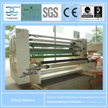 Machine de découpage et de rembobinage pour ruban adhésif