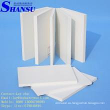 Tablero de la muestra del PVC, tablero de la forma del pvc de 1220 * 2440m m para hacer publicidad y la fabricación de la muestra