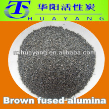 Feuerfeste Rohstoffe 300 mesh Bown verschmolzen Aluminiumoxid Körner