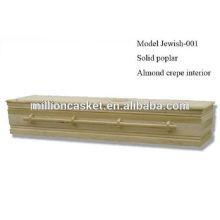 jüdischen benutzerdefinierte Schatulle mit Holzschrauben einfach Stil