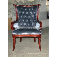 Birch wood frech classical armchair XY0032