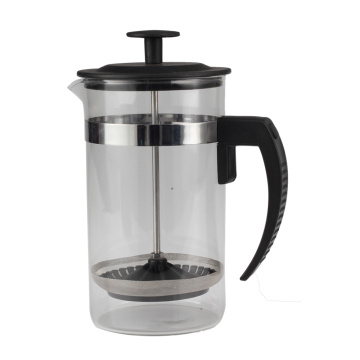 Haushaltsglas French Press Kaffeemaschine
