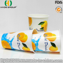 12 Oz Cold Drinking Paper Cup with Shiny/ Gloss Printing