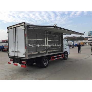 Truk kontainer semi trailer freezer