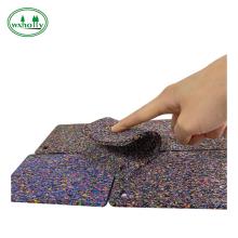 tapis carrés antidérapants en caoutchouc épais