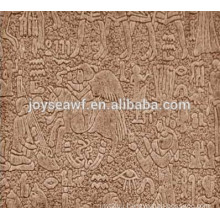 personage pattern high quality embossed hardboard