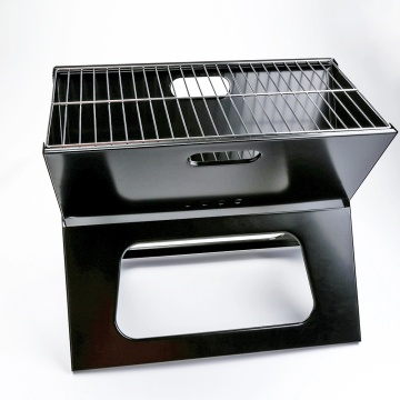 Tragbarer Grill in X-Form
