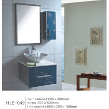 Mirrored Vanity Stainless Steel Bathroom Cabinet with Competitive Price