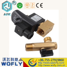 IP65 220VAC G1/2 electronic air compressor drain valve with timer