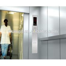El ahorro de espacio fabricante de ascensor de cama de hospital en China