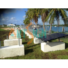 Solar-Betonhalter-Montagesystem