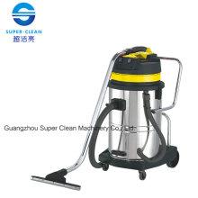 Aspirador de acero inoxidable 60L para mojado y seco con inclinación