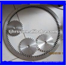 Aluminum alloy inner gear ring