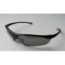 Schwarzes Sicherheitsglas in modischem Design