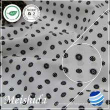 55% Baumwolle 45% Polyester Popeline bedrucktes Gewebe für Hemdmühle
