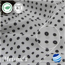 55% cotton 45% polyester poplin printed fabric for shirting mill
