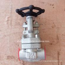 API602 Válvula de retenção NPT com fecho de aço inoxidável forjado F316L
