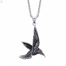 Custom Sliver Eagle Jewelry Bird Skull Stainless Steel Pendants