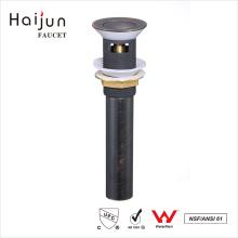 Haijun China Nuevos Productos Lavabo de agua de baño Pop Up Estilo de latón de drenaje