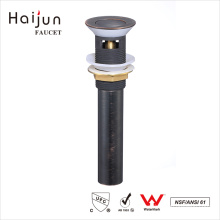 Haijun China New Products Bathroom Water Sink Pop Up Style Brass Drain