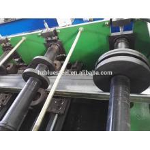 Matériau de construction en métal Full Automatic CZUW Omega Shape Purlin Cold Roll formant une machine à vendre, Purlin Making Machine