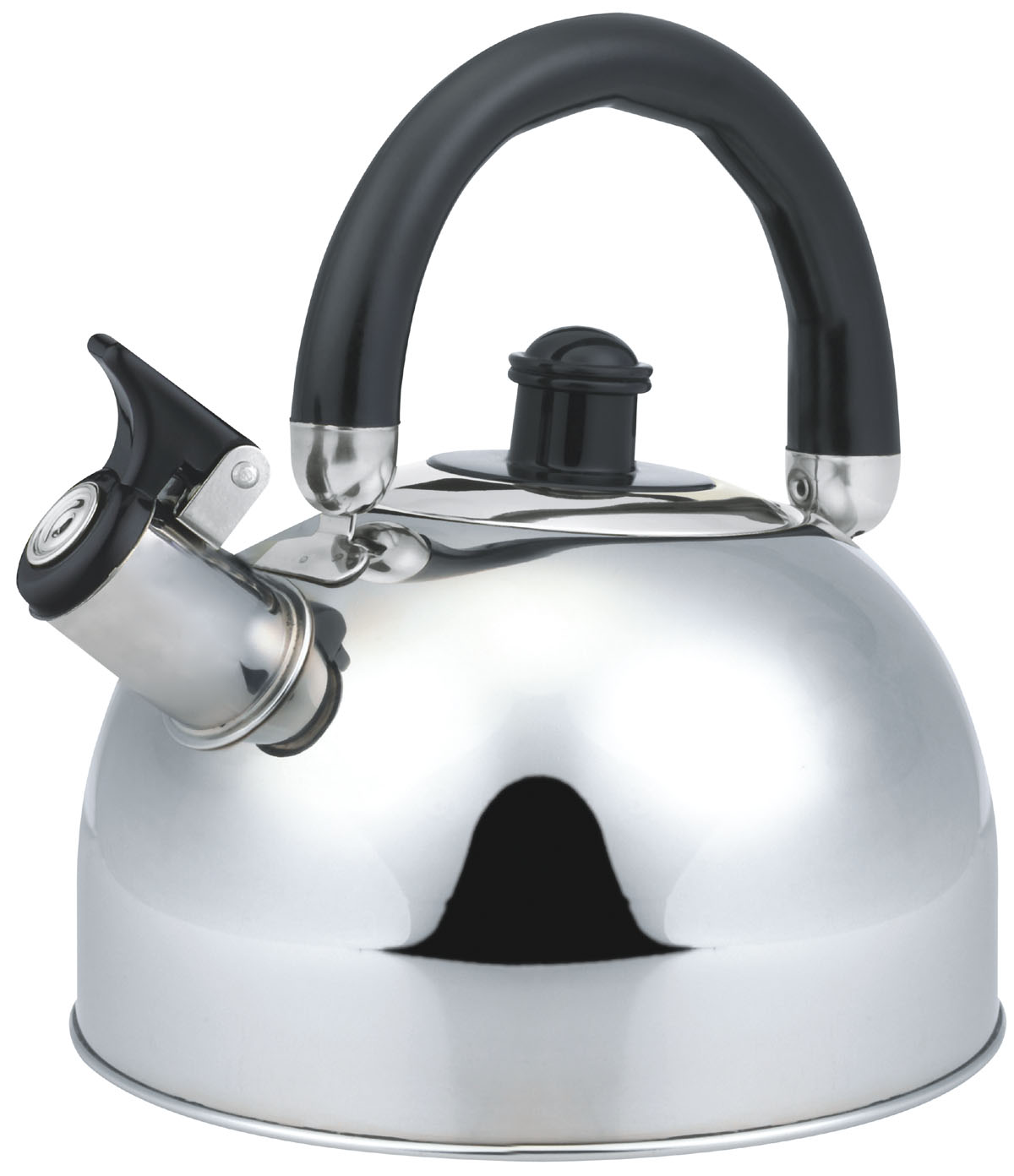 Economic move handle whistling kettle