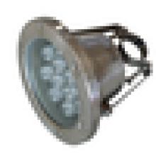 Fabricante de porcelana hasta 12W llevado lámpara subacuática impermeable luces de la piscina
