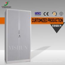 Hot sale knock downmetal tambour door cabinet /steel file cabinet price