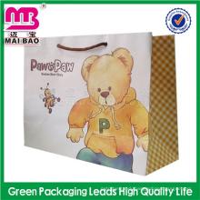 good value for the money logo custom hotel paper bag for gift