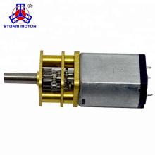 13mm kleiner ET-SGM13 Hochdrehzahl-Gleichstrommotor 5V mit Getriebe