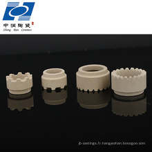 Viroles en céramique de cordiérite industrielle