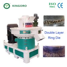 Máquina de molienda de pellets de bagazo de anillo vertical