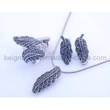 Fahion Leaf Jewelry Set