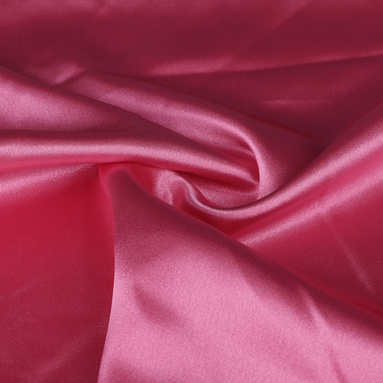 Wholesale High Quality 100 Polyester Stretch Satin