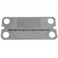 Placa para refrigeración del intercambiador de calor de la junta (igual a M15B / M15M)