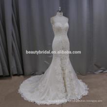 K506 wunderschöne ehrenvolle Meerjungfrau Brautkleid