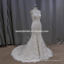 K506 gorgeous honorable mermaid wedding dress