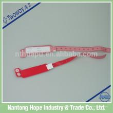 Pulseras desechables médicas de la identificación disponibles impermeables