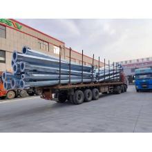 Горячие продажи уличный фонарь завод дешевые цены гальванизированный уличный фонарь стальной столб 4м 6м 10м 12м