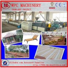 Holz Kunststoff-Verbund-Prodution Linie / PP PE Holz Kunststoff-Composite-Produktionslinie