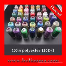 Segmento de poliéster bordado máquina Tajima uso alta qualidade