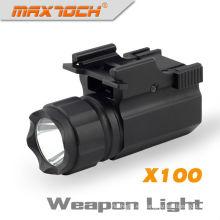 Linterna militar Maxtoch X100 con CREE R5 280 lúmenes Luz LED para arma