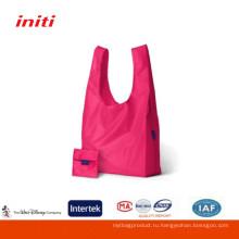 2016 Factory Sale Высокое качество Дешевые нейлоновая складная хозяйственная сумка