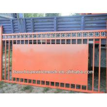 beautiful wrought iron gates or fence