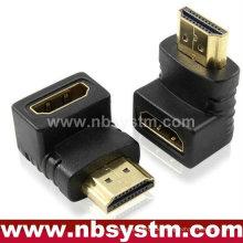 HDMI 90 Grad Winkeladapter Ein Typ männlich zu weiblich