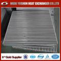 Núcleo de aluminio de aluminio vendido caliente del cambiador de calor en el material de aluminio