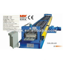 Closed type floor deck making machine, roll forming production line,