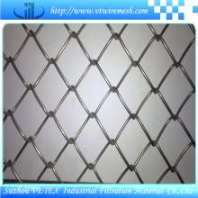 Clôture de maillon de chaîne avec rapport SGS