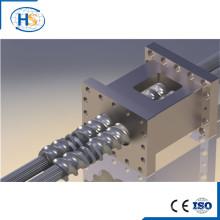 Vis et barillet pour machine à l'extrudeuse en plastique / élément à vis