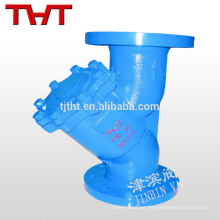 Recipiente de colador de acero al carbono tipo Y